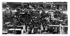 Cheapside Public Square In Lexington - Kentucky - April 7  1920 Beach Sheet