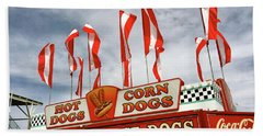 Cheese Dogs Galore Beach Towel