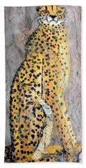 Cheetah Beach Towel by Ann Michelle Swadener