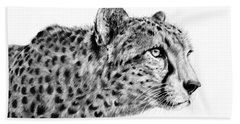 Cheetah  Beach Towel