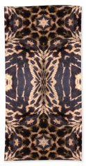 Cheetah Print Beach Towel