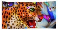 Cheetah Ride Beach Towel