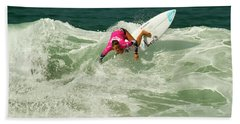 Chelsea Tuach Surfer Girl Beach Towel