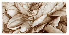 Chelsea's Bouquet 2 - Neutral Beach Towel
