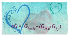 Chemical Thermodynamic Equation For Love Beach Towel