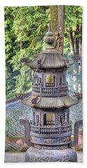 Chendu China Temple Beach Towel