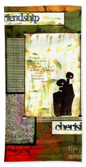 Cherished Friends Beach Sheet by Angela L Walker