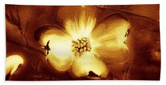 Cherokee Rose Dogwood - Single Glow Beach Sheet