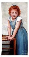 Cherries Beach Sheet by Judy Kirouac