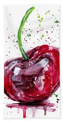 Cherry 2 Beach Towel