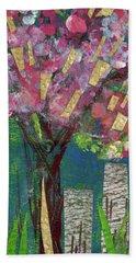 Cherry Blossom Too Beach Sheet