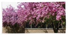 Cherry Blossoms 1 Beach Sheet by Will Borden