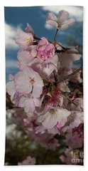 Cherry Blossoms Vertical Beach Sheet