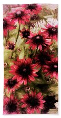 Cherry Brandy Beach Towel