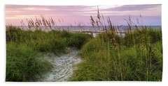 Cherry Grove Beach Scene Beach Towel