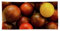 Cherry Heirloom Tomatoes Beach Towel