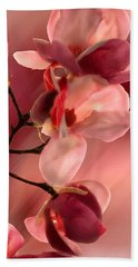 Cherry Magnolias Beach Sheet