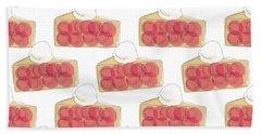 Cherry Pie- Art By Linda Woods Beach Towel