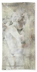 Cherub Child Bethesda Beach Towel