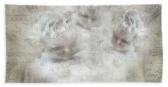 Cherubs In Bethesda Beach Towel by Evie Carrier