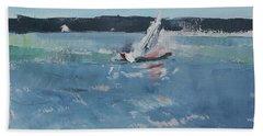 Chesapeake Bay Sailing Beach Towel