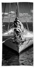 Chesapeake Bay Skipjack Fisher Beach Towel