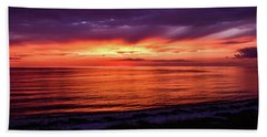 Chesapeake Bay Sunset Beach Towel