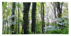 Chesapeake Oldgrowth Forest Beach Towel