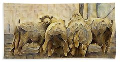 Chester County Sheep Beach Sheet