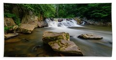 Chestnut Creek Falls  Beach Towel