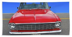 Chev Wagon Beach Towel