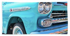 Chevrolet Apache Truck Beach Towel