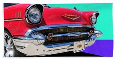 Chevrolet Bel Air Color Pop Beach Sheet