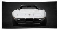 Chevrolet Corvette Sting Ray Beach Towel