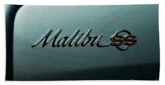 Chevrolet Malibu Ss Beach Towel