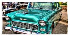 Chevy Cruising 55 Beach Towel by Dale R Carlson