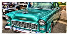 Chevy Cruising 55 Beach Sheet