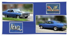 Chevy Nova Horizontal Beach Sheet