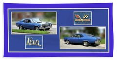 Chevy Nova Horizontal Beach Towel