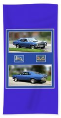 Chevy Nova Vertical  Beach Towel