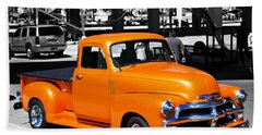 Chevy Pick Up  Beach Towel