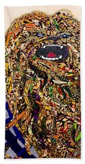 Beach Sheet featuring the tapestry - textile Chewbacca Star Wars Awakens Afrofuturist Collection by Apanaki Temitayo M