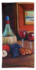 Chianti Still Life Beach Sheet
