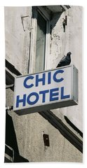 Chic Hotel Beach Sheet