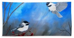 Chickadees  Beach Sheet