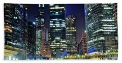 Chicago Towers 2017  Beach Towel