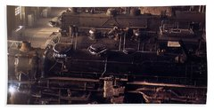 Chicago And North Western Railroad Locomotive Shops At Chicago Beach Sheet