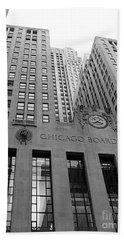 Chicago Board Of Trade Beach Towel