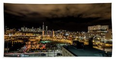 Chicago City And Skyline Beach Towel