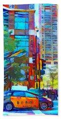 Chicago Colors 1 Beach Towel